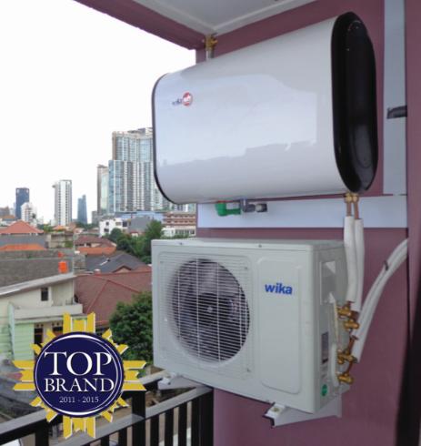 Wika Aircon Water Heater Hemat Pengeluaran